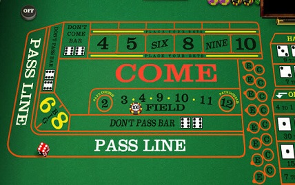 Craps Playing Strategies at a Glance Online